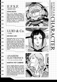 Gundam Narrative Vol 01 the translations of Zeonic Scanlation