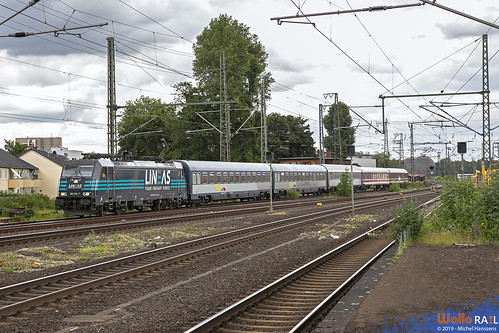 186 293 . LNS . Leerfahrt UEX 1384 . Köln Mülheim . 16.06.19.