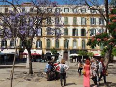 Plaza de la Merced, Malaga, Spain