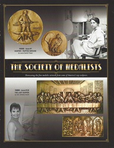 Society of Medallists exhibit brochure cover