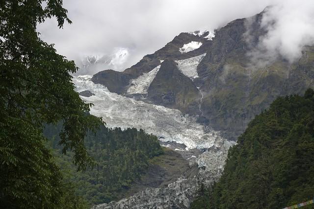 The glacier of Mt Khawa Karpo, Tibet 2018