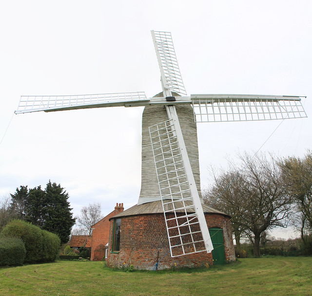 Thrigby windmill