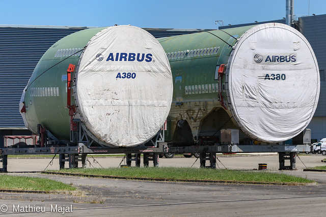 Tronçons A380 / Emirates