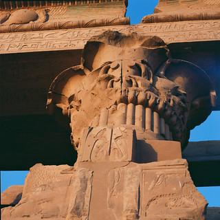 søylehode på tempelet - EG0014