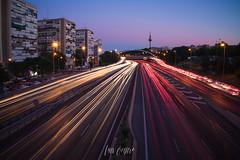 Puente #M30 #Madrid #Piruli  #longexposure #nightimages #estelas #sonyA7rii #24mm #sunset