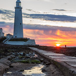 9. Juuni 2019 - 3:34 - Sunrise at St.Mary's Lighthouse