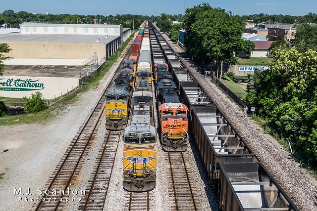 UP 5509 | GE AC45CCTE | UP Memphis Subdivision
