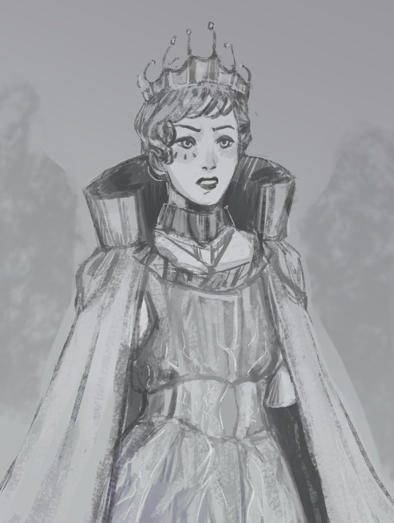 Amanda as the Princess of Earth