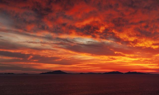 Sunset Neist Point  Isle Of Skye Scotland 05/2019