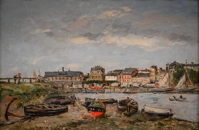 Eugene Boudin - Trouville, 1891 at Cincinnati Art Museum - Cincinnati OH