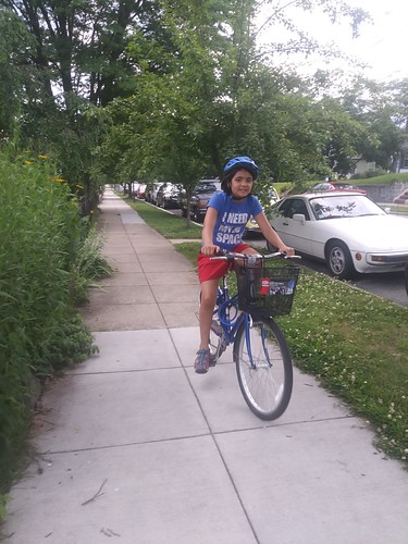 Marina bicycling