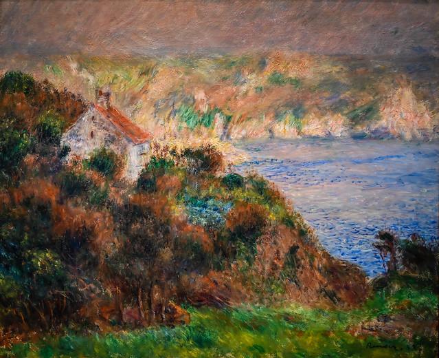 Pierre Auguste Renoir - Fog on Guernsey, 1883 at Cincinnati Art Museum - Cincinnati OH