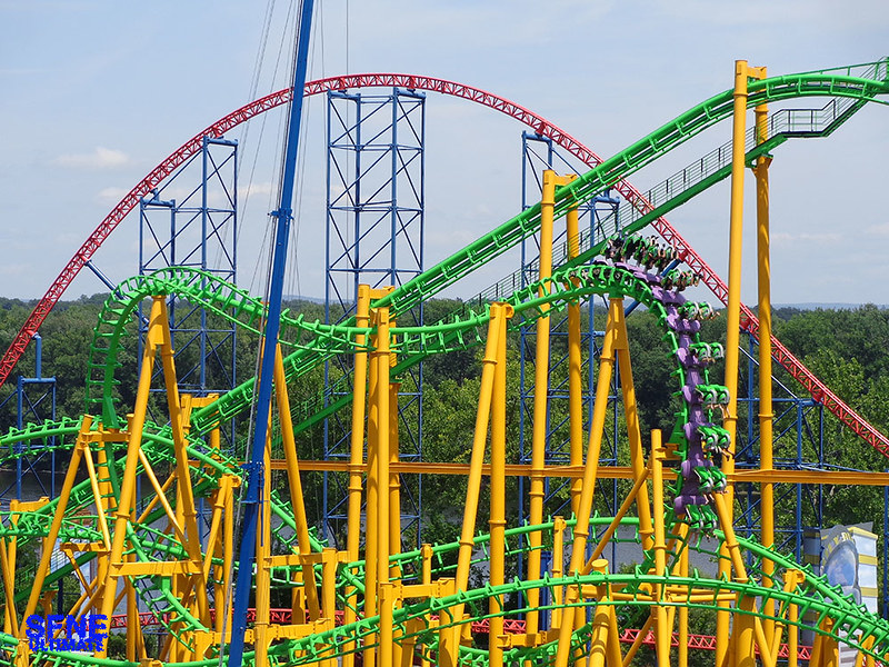 Six Flags New England.