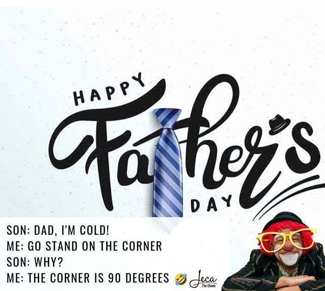 Happy Father's day to we all. #fatherday #Father #Sunday16th #Happyfather #dad #mydadisaclown #irelandfathersday