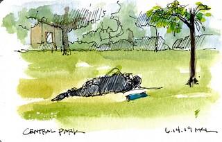 Friday Morning at Central Park, Davis