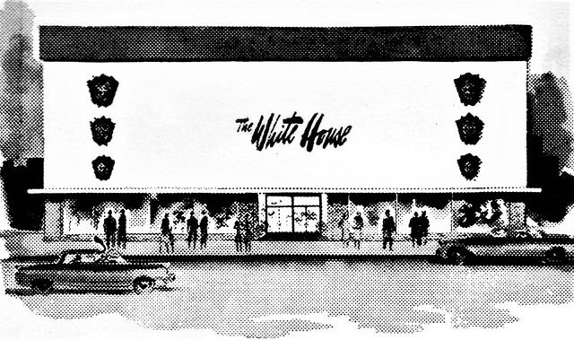 The White House Department Store ad 1964 Indiana