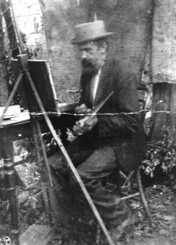 queensland statelibraryofqueensland artists painters easel painting