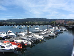Detail  of the Marina, Pontedeume Harbour