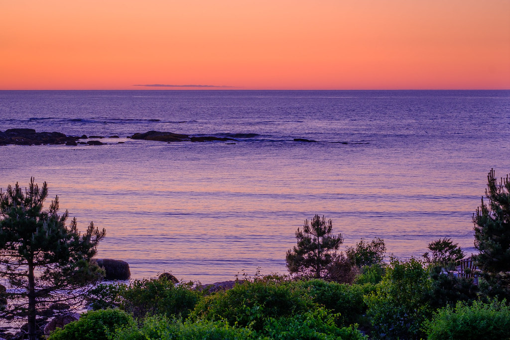 Sunrise in Gloucester, MA
