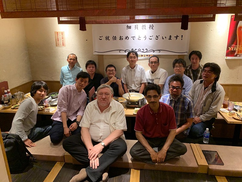 [2019/06/05] A small party to celebrate start of the new Lab.