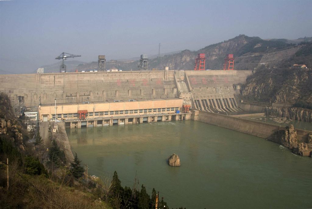 三門峽大壩。圖片來源:baike