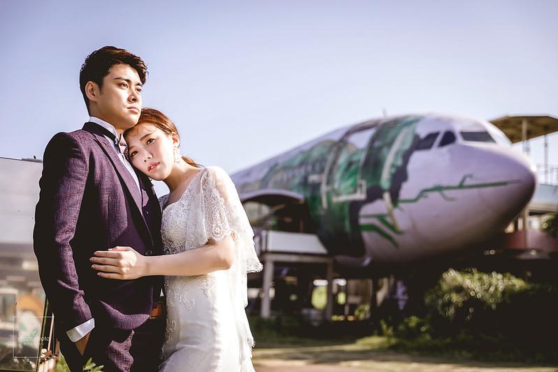綠攝影像美式婚紗