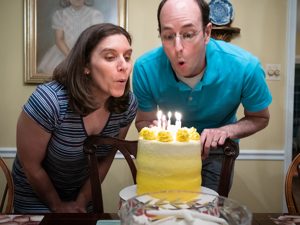 Combined birthday celebration