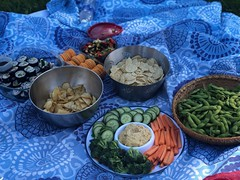 All Canadian beach picnic fare