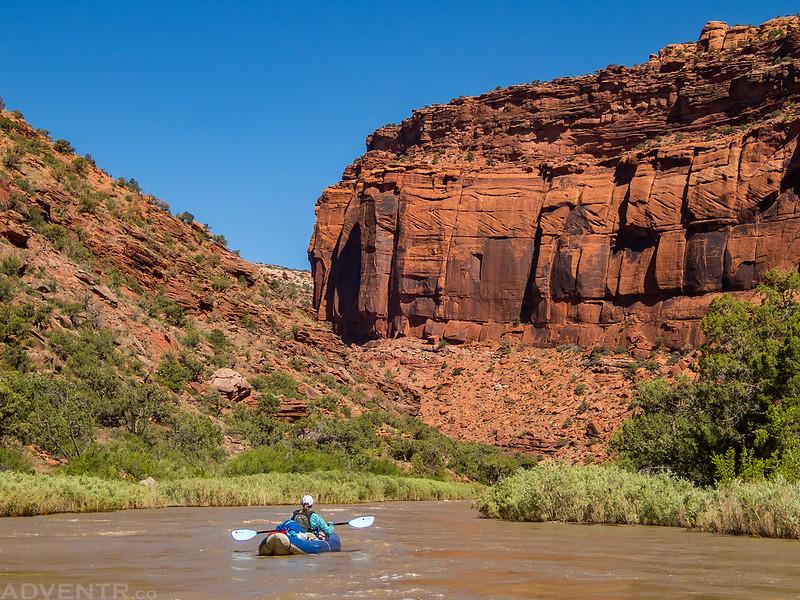 Floating Slick Rock Canyon