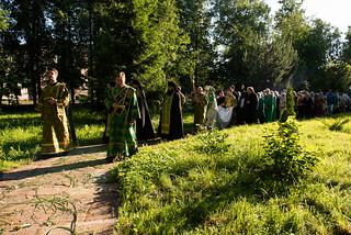 15.06.2019 | Всенощное бдение в Троицком храме Старой Руссы