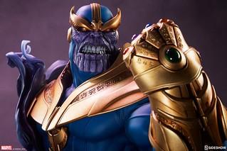你聽見那些痛苦靈魂的吶喊了嗎?! Sideshow Collectibles Marvel Comics【薩諾斯】Thanos 胸像作品