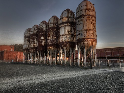 flickrfriday lightpainting bellingham washington iphone8 industrial landscape photomatix hdr