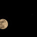 Conjunction between Moon and Jupiter
