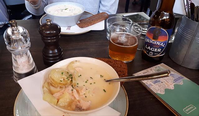 Lohikeitto (Salmon soup), Helsinki