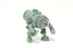 LEGO green bot - atana studio