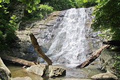 One of the upper falls