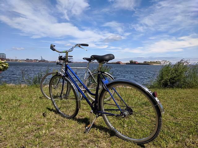 Biking in Refshaleøen