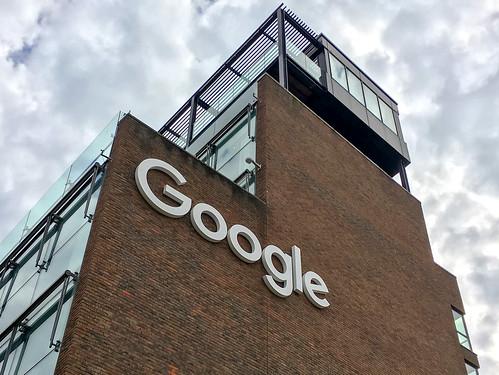 Google Headquarters Ireland Building Sign