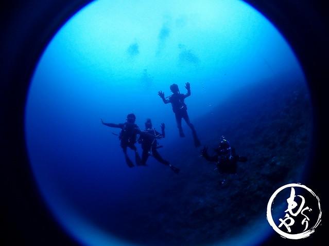 今日もみんなでLet's Diving!!