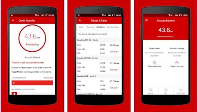 5188 How to recharge Virgin Mobile in Saudi Arabia