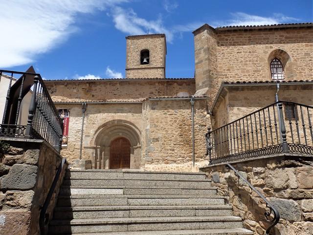 Ágreda - Iglesia románica Ntra. Sra. de la Peña.