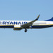 Ryanair B737-8AS(WL) EI-DWX