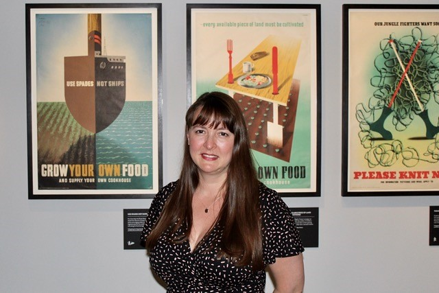 Alumna Emma Mawdsley discusses Abram Games' exhibition at National Army Museum