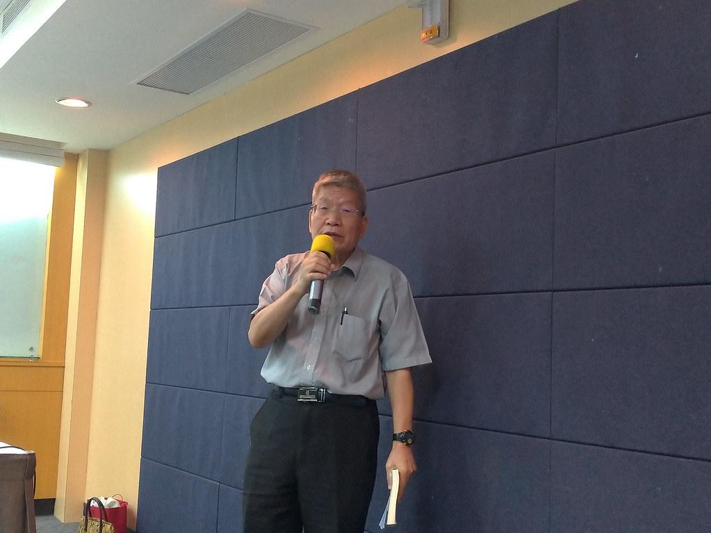 核工學者賀立維博士指出,台灣沒有核廢料再利用的可能。孫文臨攝