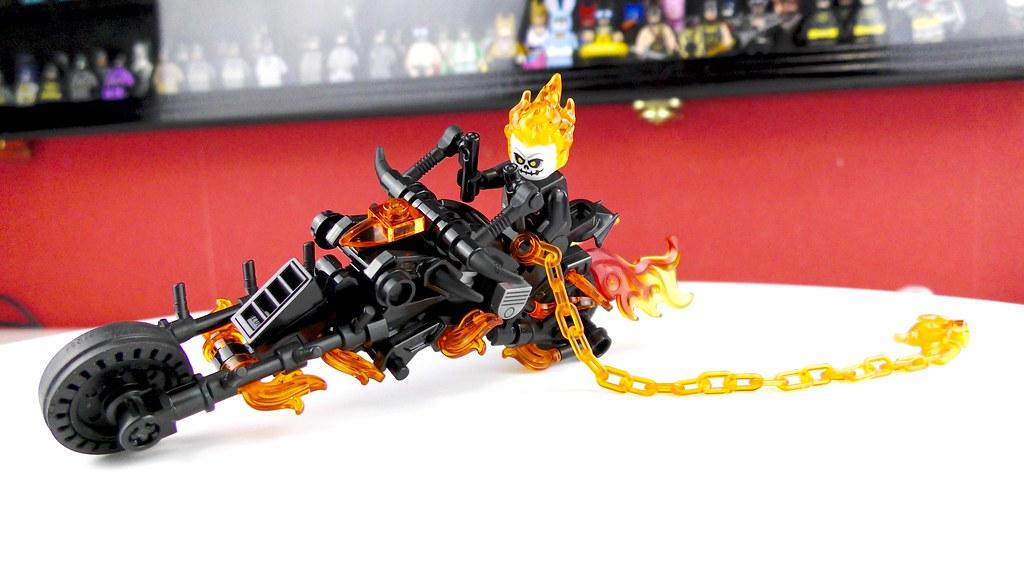 Ghost Rider's Motorbike