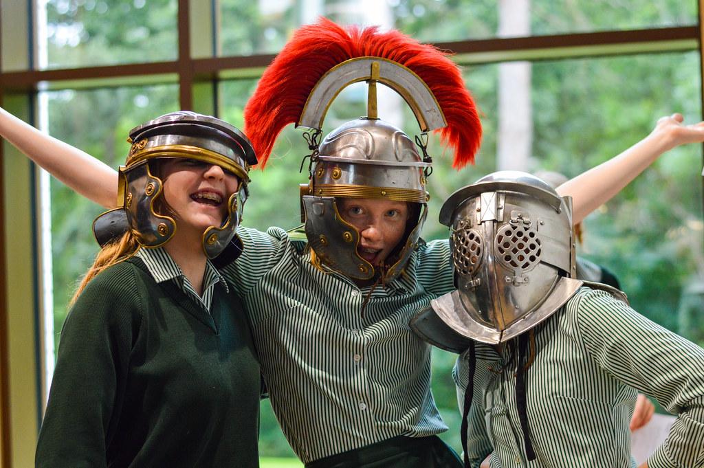 Classics: Roman Solider Visit