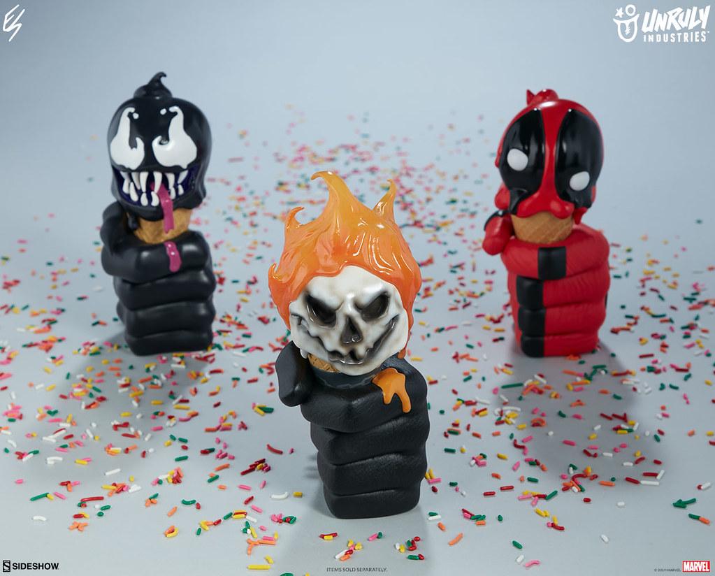 這支「猛毒」甜筒吃起來應該是黑芝麻口味的吧?? Unruly Industries Marvel【一球猛毒 by Erik Scoggan】Venom: One Scoops by Erik Scoggan