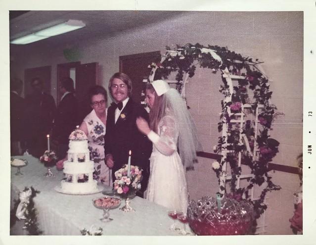 Wedding June 1973