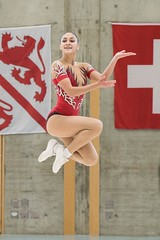 Cora - Swiss champion aerobic gymnastics