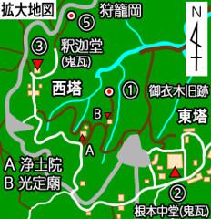 地図_比叡山_東塔・西塔地区の拡大地図_008